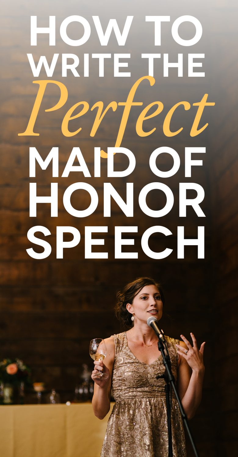 How to write a speeches