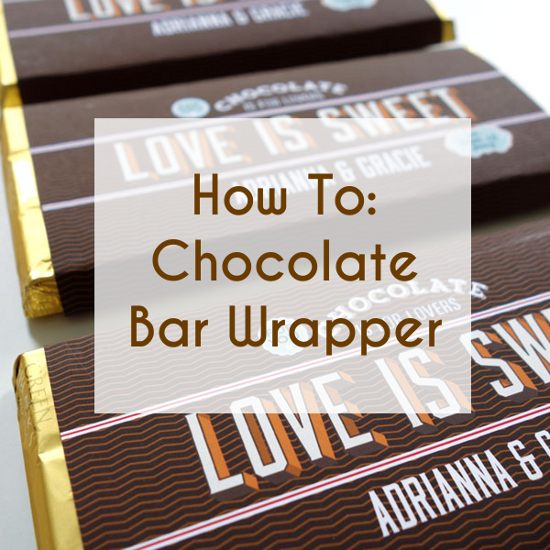 Free printable candy bar wrappers for wedding favors for Personalized chocolate wrappers template